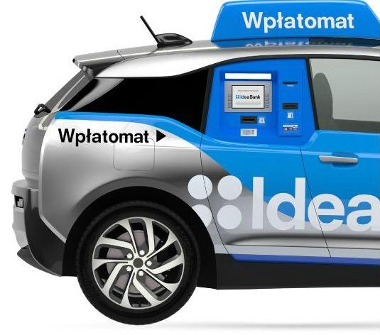 Idea Bank Lanseaza Un Uber Banking Primul Atm Mobil