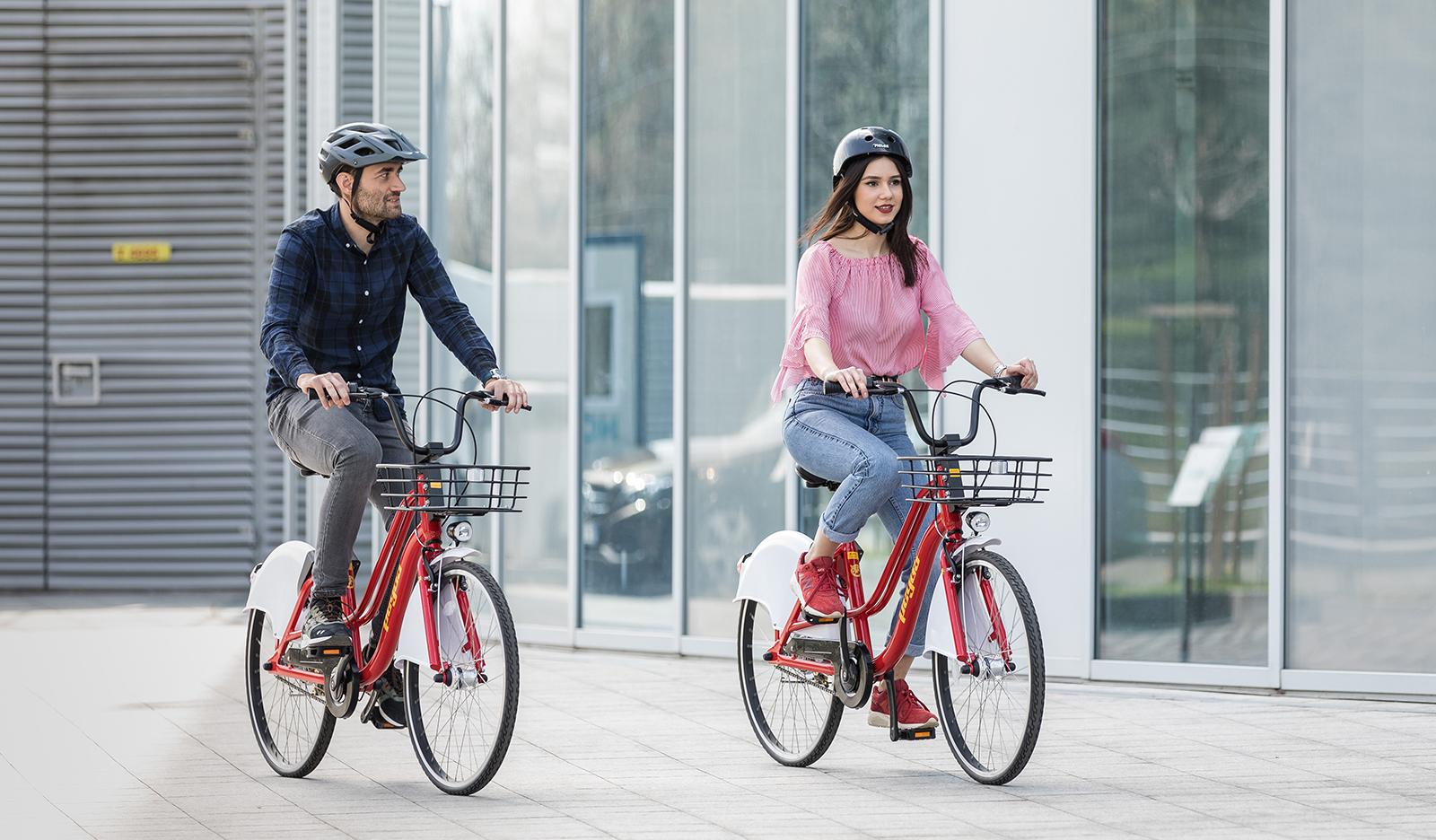 Pegas lansează un sistem de închiriere de biciclete prin aplicație mobilă. Ionuț Stanimir, BCR: Ape Rider powered by Pegas, este unul dintre cele mai importante proiecte de mobilitate urbană susținute de BCR