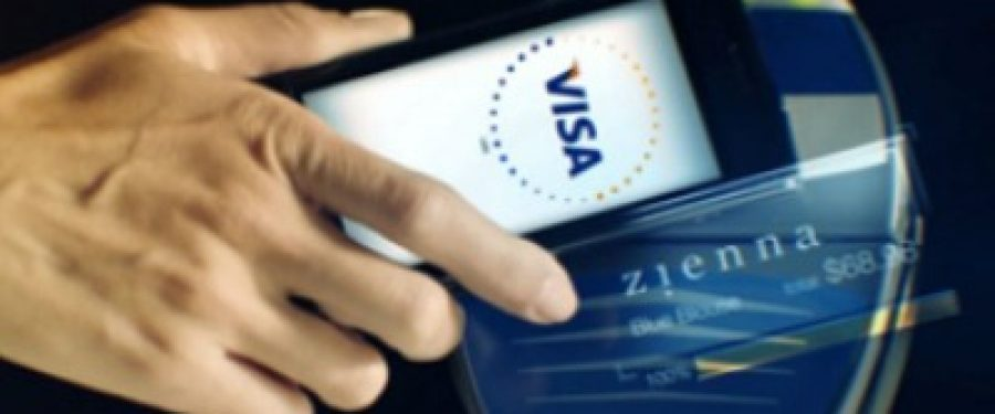 Visa va lansa in Romania plata la comercianti cu telefonul