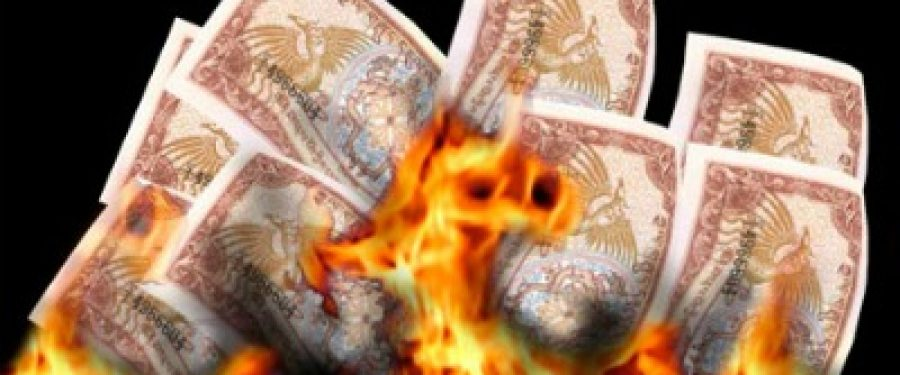 Banca Centrala a Ungariei da foc banilor pentru a face caldura