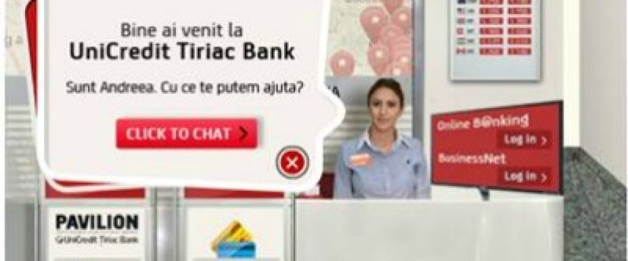UniCredit Tiriac Bank a deschis prima e-sucursala pe Facebook
