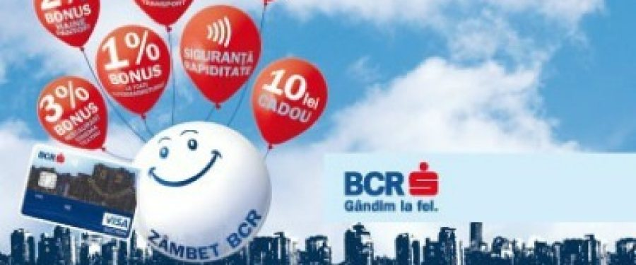 Cardul Zambet BCR desemnat cel mai bun card contactless