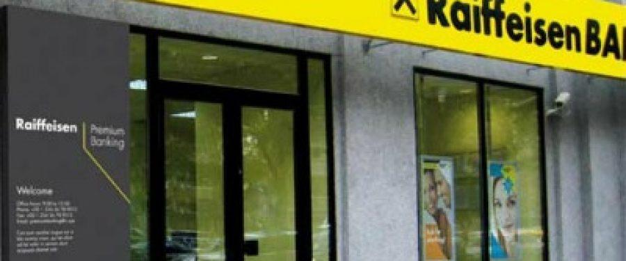 "EMEA Finance desemneaza Raiffeisen Bank ""Cea mai buna banca"" din Romania"