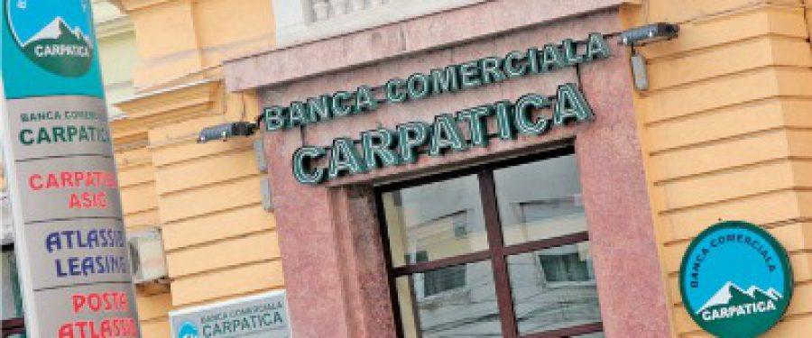Banca Carpatica estimeaza ca va reveni pe profit in acest an