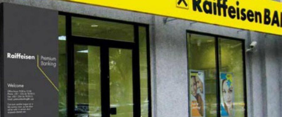 Raiffeisen Bank si-a dublat profitul