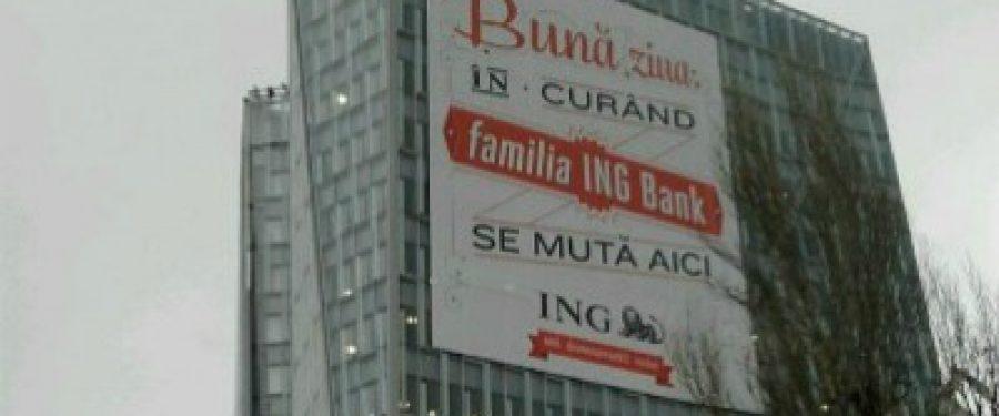 "ING, singura banca din Romania cu un sediu ""eco friendly"""