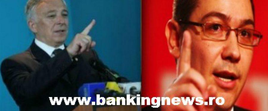 Si Ponta iese cu declaratii despre cursul euro
