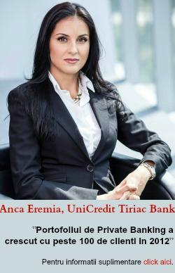 Bilantul activitatii UniCredit Tiriac Bank pe 2012