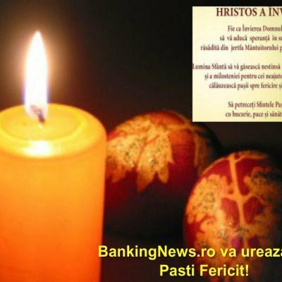 BankingNews.ro va ureaza un Pasti Fericit!