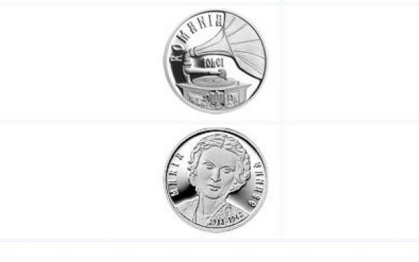 BNR lanseaza moneda dedicata Mariei Tanase