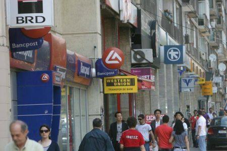 Expunerea bancilor straine pe Romania a scazut in primele trei luni