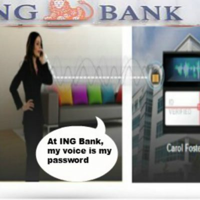 Premiera in Romania: clientii ING Bank vor fi recunoscuti dupa amprenta vocala