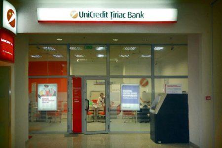 UniCredit Tiriac Bank a facut profit de 24 mil euro in primele sase luni