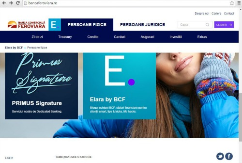 Ce mesaj transmite Banca Comerciala Feroviara prin lansarea noului portal