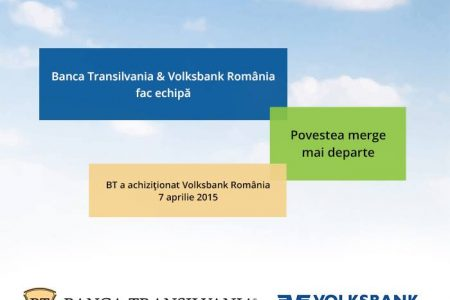 Mesajul Bancii Transilvania, dupa achizita Volksbank: Povestea merge mai departe!