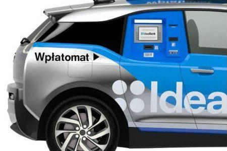 "Idea Bank lanseaza un ""Uber banking"": primul ATM mobil"