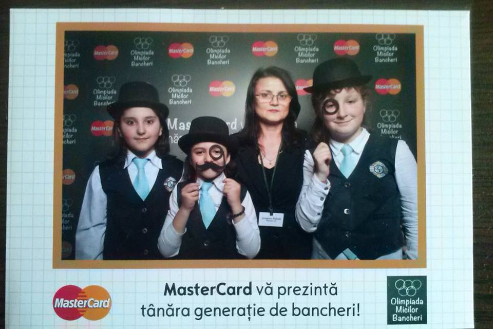 MasterCard a sustinut Olimpiada Micilor Bancheri, oferind un premiu special – Cel mai inovator proiect