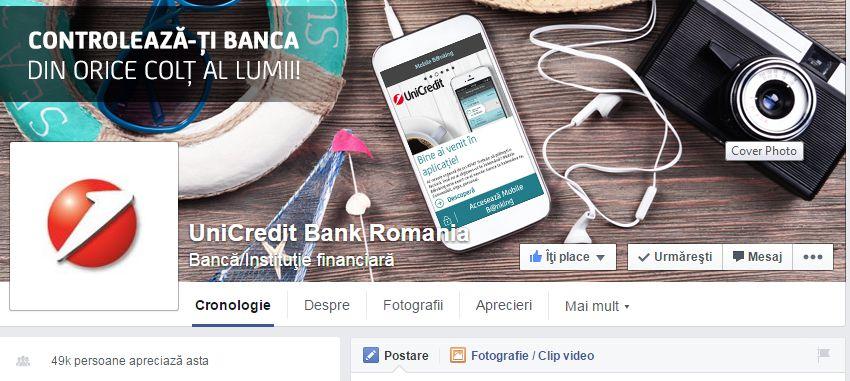 "Rebranding: UniCredit Tiriac Bank renunta la ""Țiriac"" si devine UniCredit Bank"