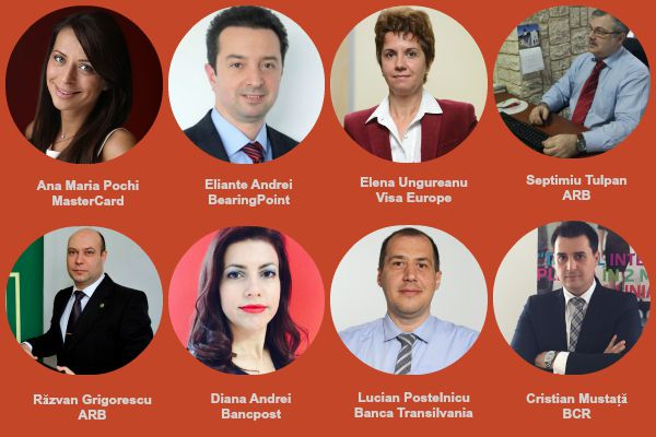 "Diana Andrei (Bancpost) si Eliante Andrei (BearingPoint) vin la conferinta ""Banking Innovation Lab."""