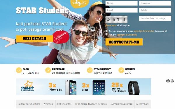 Banca Transilvania isi premiaza clientii studenti
