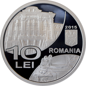 O noua moneda de argint lansata de BNR