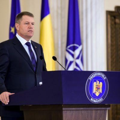 Preşedintele Klaus Iohannis: este esenţială independenţa Băncii Naţionale a României în legătură cu deciziile de politică monetară