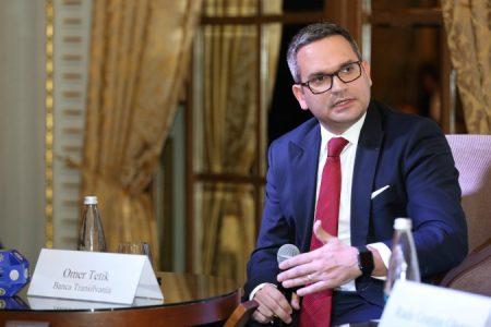 Ce spune Omer Tetik despre obiectivele Bancii Transilvania dupa preluarea Volksbank, despre locul al doilea in sistemul bancar si despre o noua achizitie