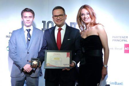"""Gala BankingNews: 10 premii pentru activitatea bancilor din ultimii 10 ani. Banca Transilvania a fost desemnata """"Banca deceniului"""", Radu Gratian Ghetea """"Bancherul deceniului"""""""