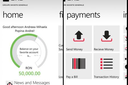BRD anunta ca a adaugat noi functionalitati serviciului de mobile banking. Transfer direct de bani catre un numar de telefon