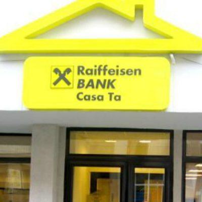 Raiffeisen Bank socheaza piata bancara romaneasca, majorand avansul pentru creditele ipotecare: 35% pentru imprumuturile in lei si 40% pentru cele in euro