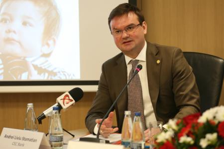 Andrei Liviu Stamatian, CEC Bank: Profitabilitatea segmentului de carduri se va reduce din cauza diminuării comisioanelor interbancare