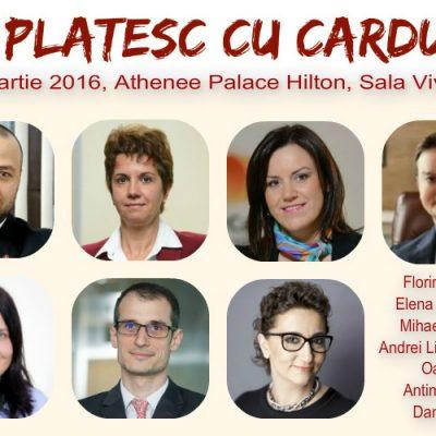 """Specialiștii industriei de carduri se întâlnesc la conferința """"EU plătesc cu cardul"""" pentru a discuta despre perspectivele de dezvoltare ale pieței"""