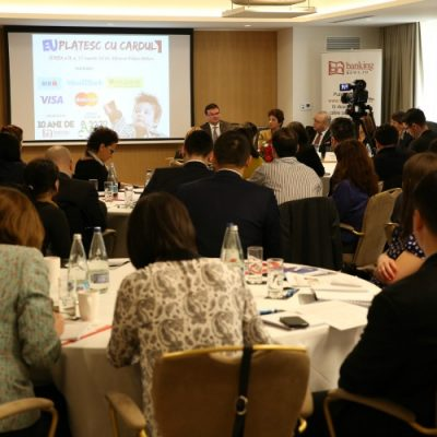 """Cele mai importante declarații susținute de specialiștii industriei de carduri la Conferința """"EU plătesc cu cardul"""""""