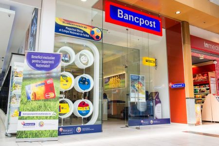 Bancpost a obtinut un profit net de 28,6 milioane lei în semestrul I din 2016