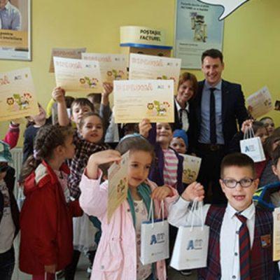 Peste 10.000 de elevi au participat la ABT Financiar, cel mai mare program de educație financiară pentru elevi organizat de Banca Transilvania