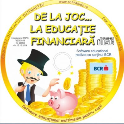 """Astăzi s-a lansat programul de educație financiară preșcolară """"De la Joc la Educație Financiară"""". Conceput de specialistul BNR Ligia Goloșoiu și susținut de BCR, programul urmărește alfabetizarea financiară"""