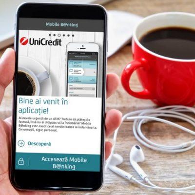 """UniCredit Bank a îmbunătăție aplicația de Mobile Banking. Alexandru Mihalache: """"Utilizarea serviciului face din orice telefon echivalentul unei sucursale UniCredit"""""""