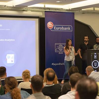"""Prima competiţie """"Beyond Hackaton"""" organizată de Eurobank Innovation Center s-a încheiat cu succes"""