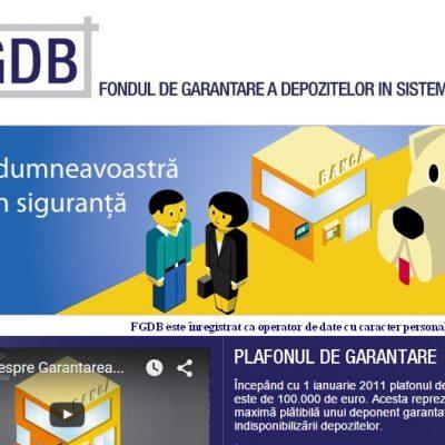 Fondul de Garantare a Depozitelor Bancare: Depozitele până în 100.000 de euro din România sunt integral garantate