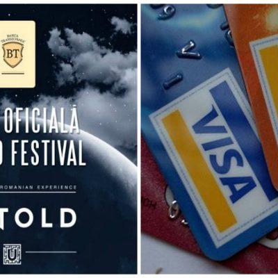 Banca Transilvania și Visa vor asigura sistemul de plăți de la UNTOLD