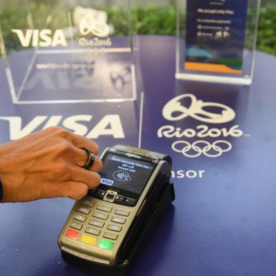 Rio 2016: Visa a lansat cele mai sofisticate tehnologii de plată: inelul, brăţara si ceasul Visa