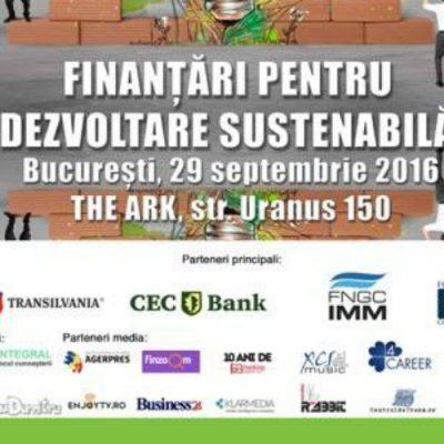 """Conferința Oxygen Events: SOS IMM-urile: """"Finanțări pentru dezvoltare sustenabilă"""""""