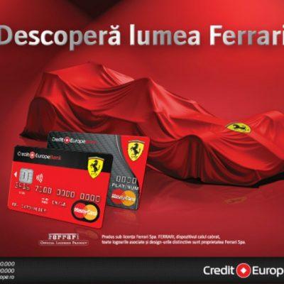 Credit Europe Bank a lansat Ferrari Card