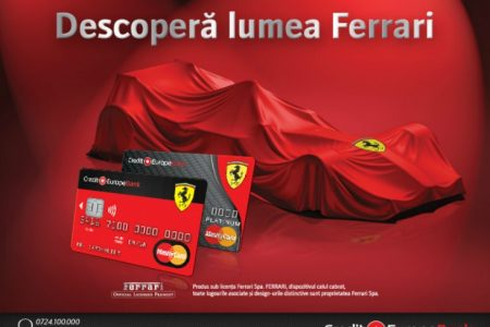 Credit Europe Bank a lansat Ferrari Card
