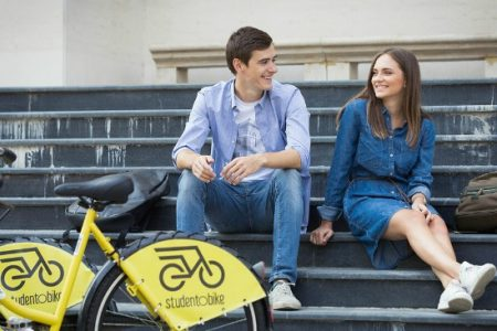 Raiffeisen Bank anunta deschiderea sezonului de toamna studentObike