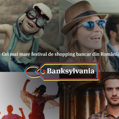 Banca Transilvania lansează cel mai mare festival de shopping bancar din România: Banksylvania