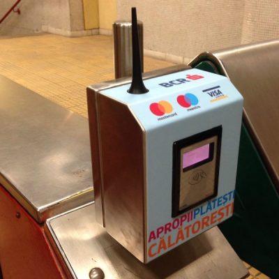 Premieră națională de la BCR: După Londra, Bucureștiul devine a doua capitală europeană unde plata calatoriei cu metroul se va face doar prin simpla apropiere a oricărui card bancar contactless