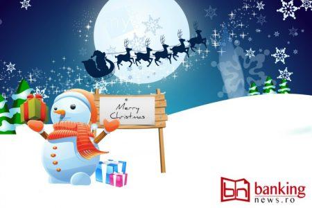 Ce bănci sunt deschise de Sărbători, cum și cine va asigura relația cu clienții. Cu această informație utilă, Publicația BankingNews vă urează Crăciun Fericit!