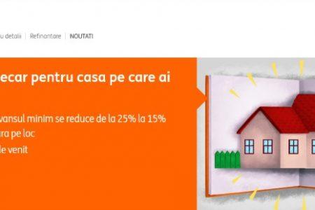 ING Bank reduce avansul pentru creditele ipotecare la 15%. Iată ce bănci mai oferă împrumuturi cu avans minim