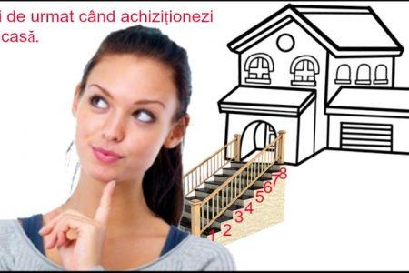 8 paşi de urmat când achiziţionezi o casă. Creditul, zona şi pretul locuinţei, marile provocări ale cumpărătorului